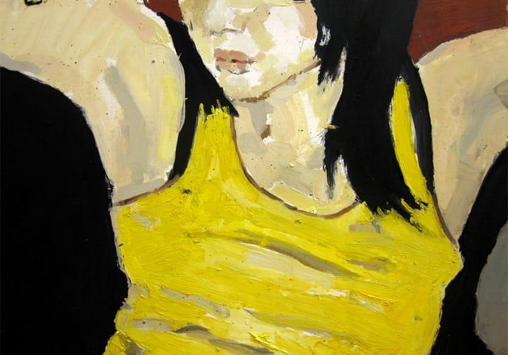 Live Show 02. Oil on wood, 60 x 42 cm, 2011