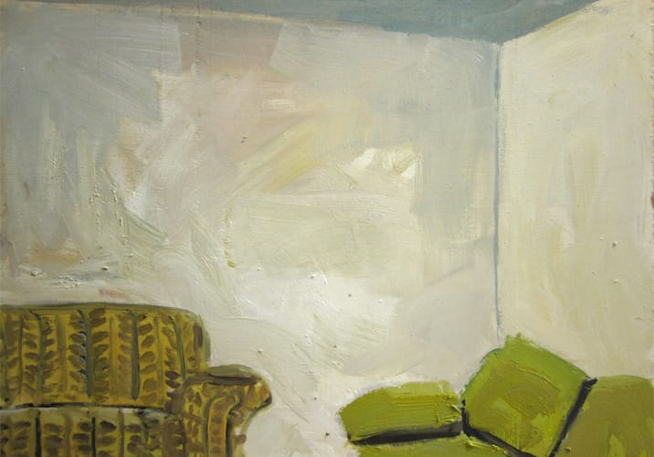Live Show 13. Oil on wood, 60 x 42 cm, 2011