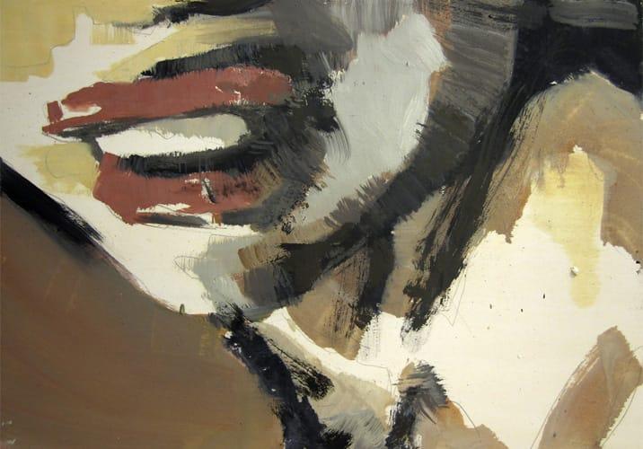 Live Show 14. Oil on wood, 60 x 42 cm, 2011