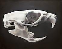 Rattus Norvegicus. Oil on canvas, 100 x 80 cm, 2014