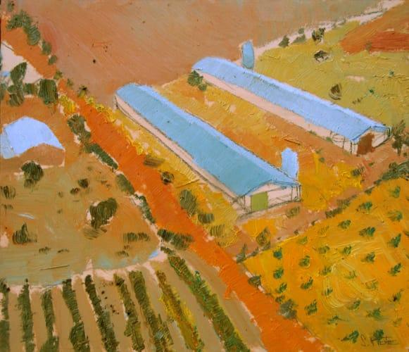 Naves. Oil on wood, 50 x 40 cm, 2011