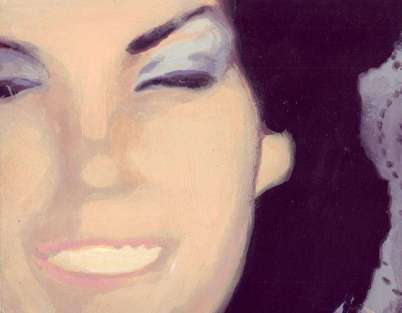 Berta II . Gouache on cardboard, 25 x 20 cm, 2013