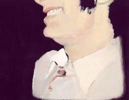 Eduardo . Gouache on cardboard, 25 x 20 cm, 2013