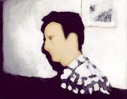 Eugenio Frutos Mejías . Gouache on cardboard, 25 x 20 cm, 2013