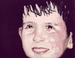 Fernando . Gouache on cardboard, 25 x 20 cm, 2013