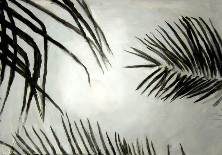 Sommer VI.  Gouache on paper, 100 x 70 cm,  2011