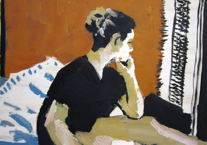Live Show 20.  Oil on wood, 60 x 42 cm,  2011