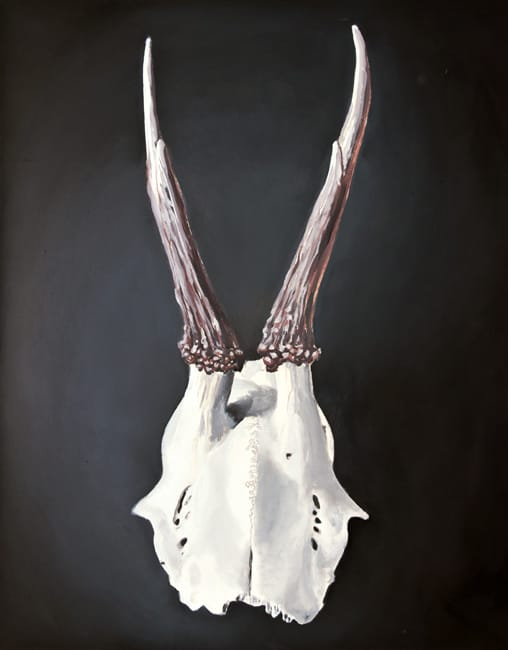 Capreolus Capreolus. Oil on canvas, 80 x 100 cm, 2014