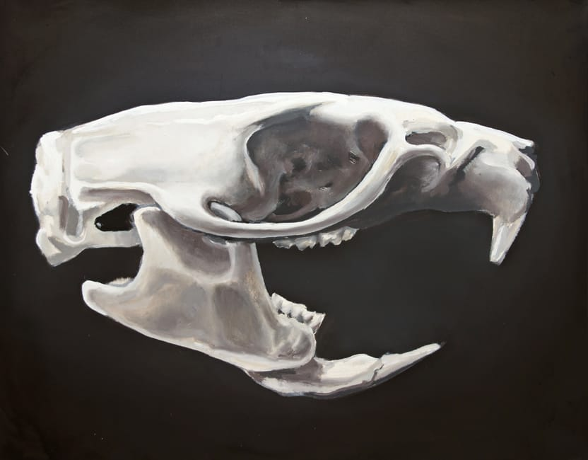 Rattus Norvegicus. Oil on canvas, 100 x 80 cm, 2014