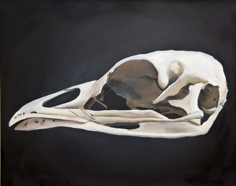 Tetrao Urogallus. Oil on canvas, 100 x 80 cm, 2014