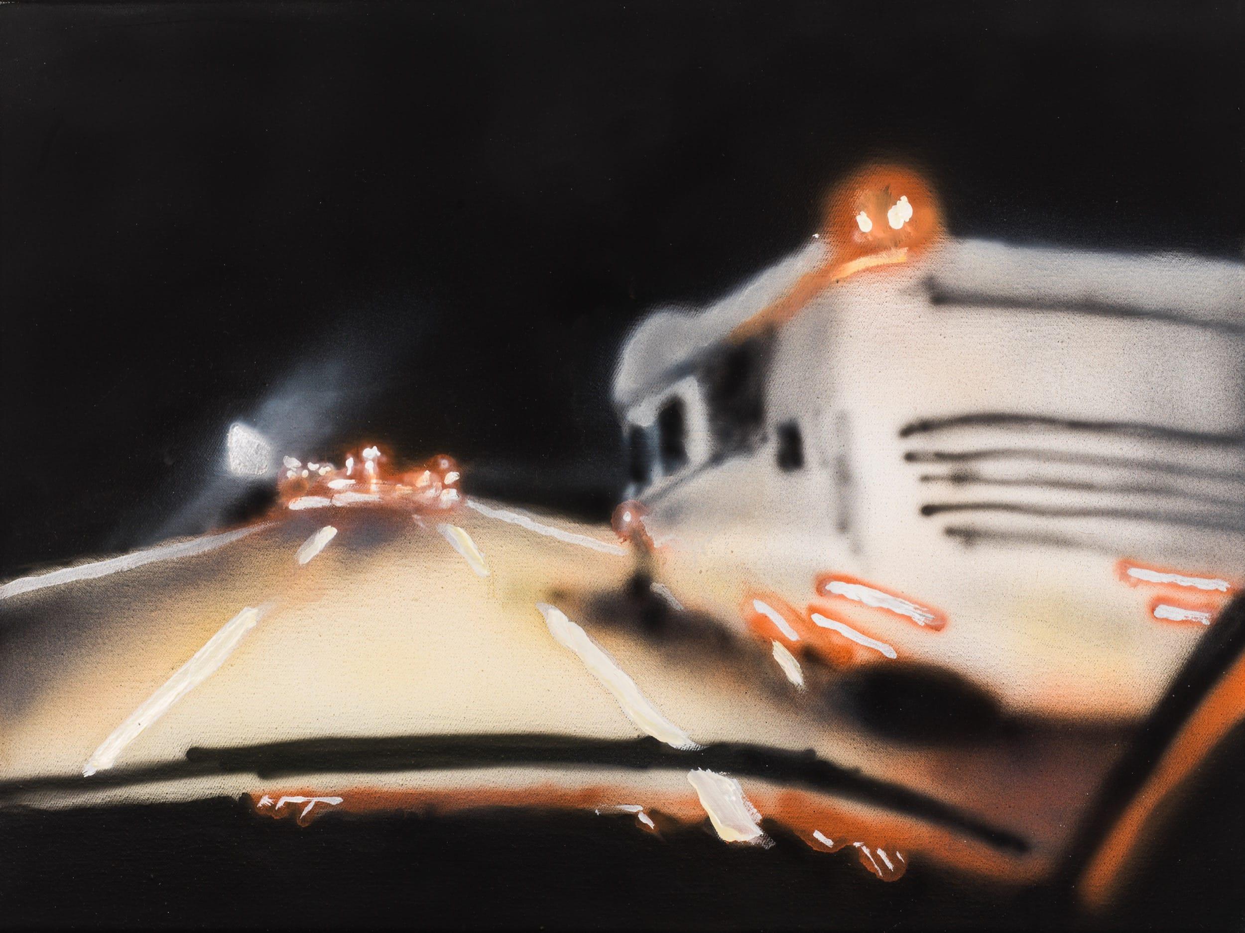 A2 - Wohnmobile.  Oil on canvas, 40 x 30 cm,  2019