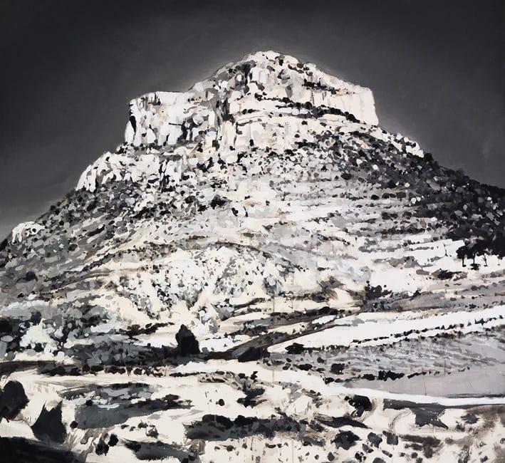 Mesa. Acrylic on canvas, 130 x 120 cm, 2013