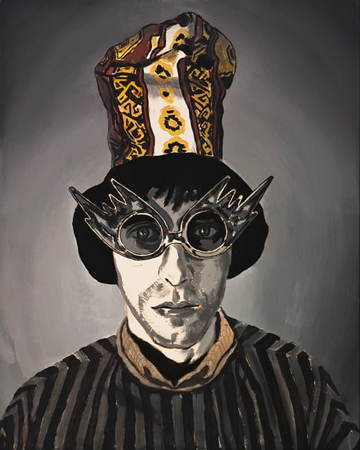 Mr Leapman. Acrylic on canvas, 80 x 100 cm, 2013
