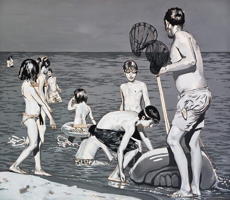 Strand I. Acrylic on canvas, 160 x 140 cm, 2013