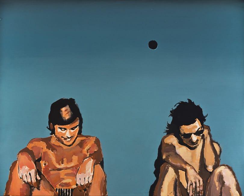 Swimming Pool I. Acrylic on canvas, 100 x 80 cm, 2013