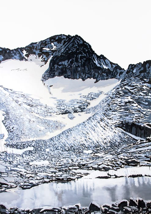 Aneto, Big. Oil on canvas, 150 x 200 cm, 2015